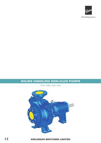 SHS Solid Handling Sump Pump
