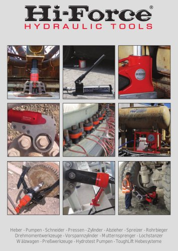 Hi-Force Hydraulic tools