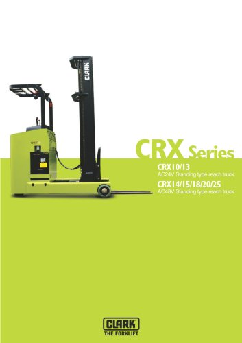 Broschüre CRX