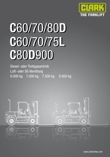Datenblatt C60/70/80D C60/70/75L C80D900