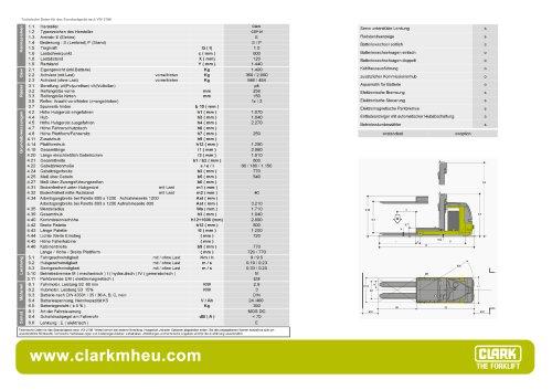 Datenblatt CLARK C OP 01