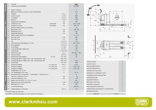 Datenblatt CLARK C PT 30