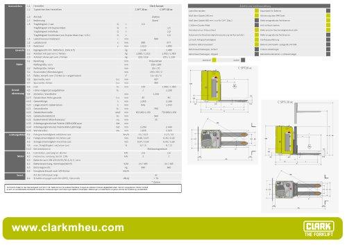 Datenblatt CLARK C SPT 20 ac