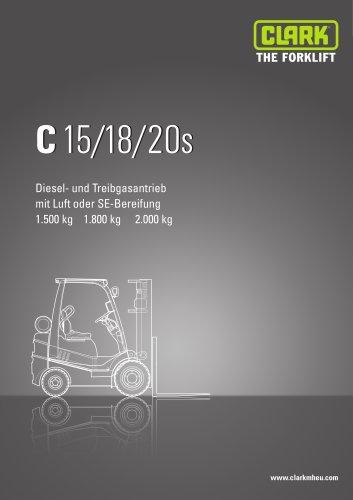 Datenblatt CLARK C15/18/20s
