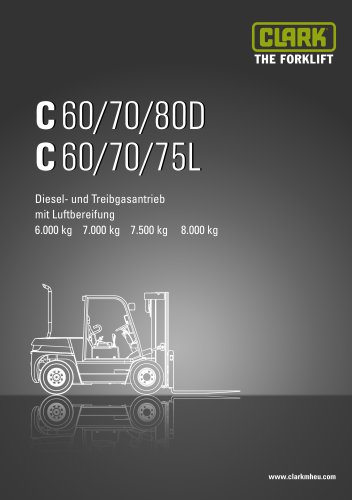 Datenblatt CLARK C60/70/75/80