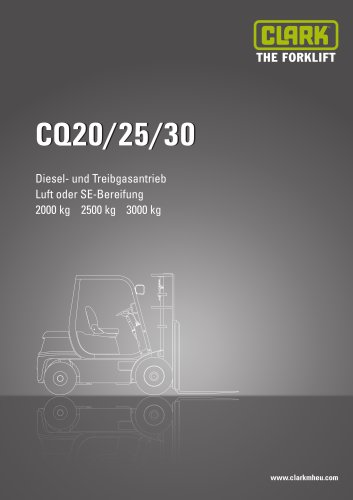 Datenblatt CLARK CQ20/25/30