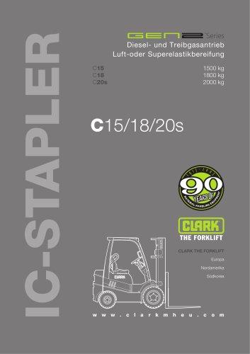 Datenblatt CLARK-GEN2 C15-20s