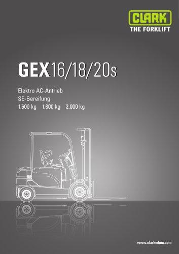 Datenblatt CLARK GEX16/18/20s