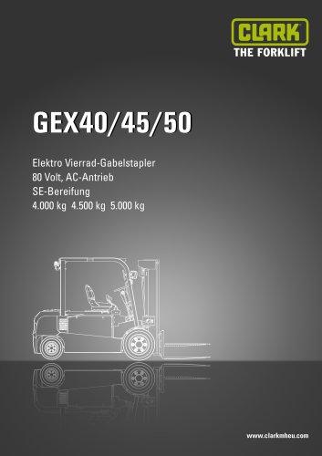 Datenblatt CLARK GEX40/45/50