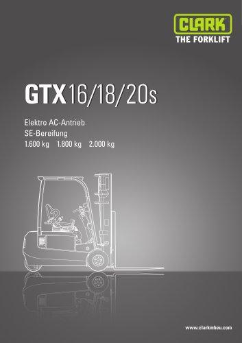 Datenblatt Clark GTX 16-20s