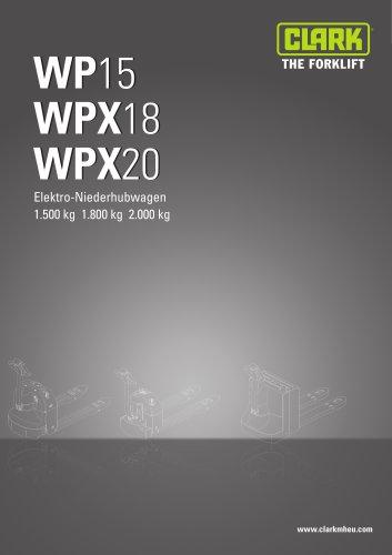 Datenblatt WP15-WPX18/20