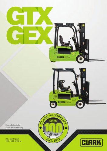 Elektro-Dreiradstapler GTX GEX 16-20s