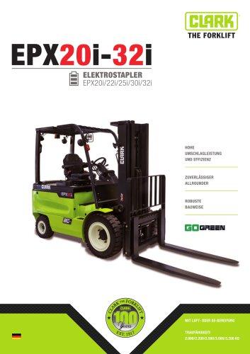 Elektro-Vierradstapler EPX20-32i