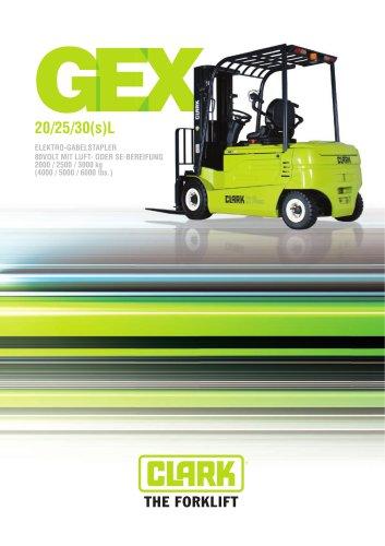 Elektro-Vierradstapler GEX20-30sL