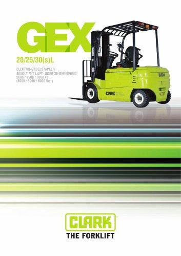 Elektrogabelstapler GenEX Series GEX 20/25/30(s)L