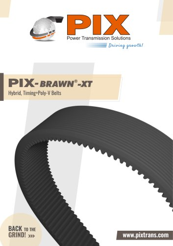 PIX-Brawn-XT (Hybrid Poly+Timing Belts)