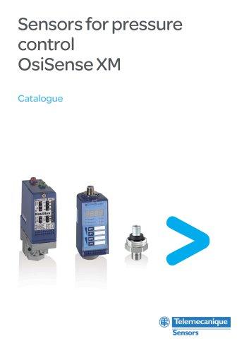 Sensors for pressure control OsiSense XM