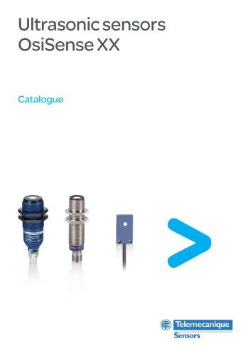 Ultrasonic sensors OsiSense XX