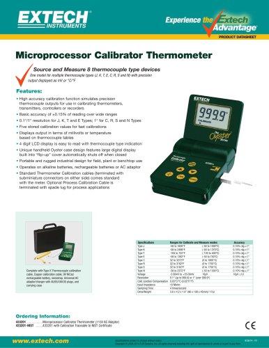 433201: Multi-Type Calibrator Thermometer