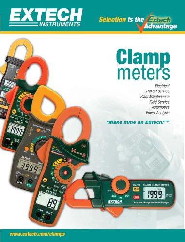 Clamp meters