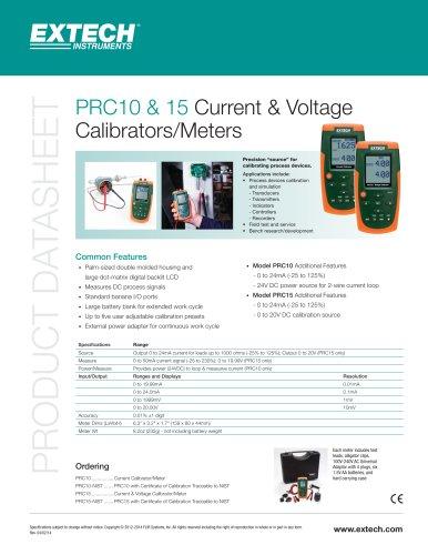 PRC15: Current and Voltage Calibrator/Meter