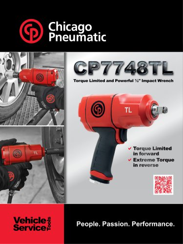 "Torque Limited and Powerful ½"" Impact Wrench CP7748TL"