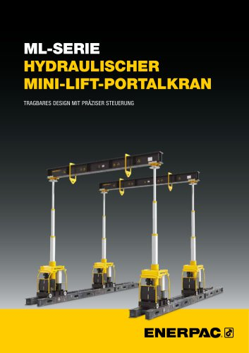 ML-SERIE HYDRAULISCHER   MINI-LIFT-PORTALKRAN