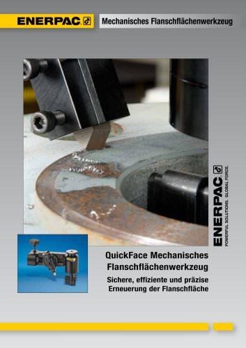 QuickFace Mechanisches  Flanschflächenwerkzeug