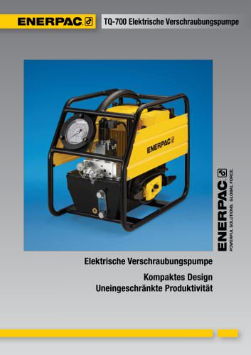 TQ700 Elektrische Verschraubungspumpe