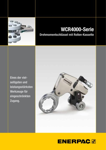 WCR-Series Roller Cassette Torque Wrench