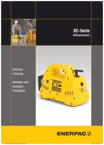 XC-Series Cordless Hydraulic Pump