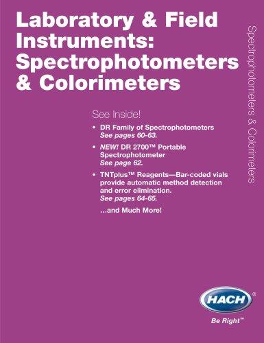 Spectrophotometers & Colorimeters