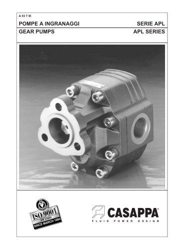 Gear pumps APL Series