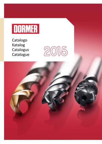 Dormer 2015 Katalog