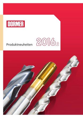 Dormer Produktneuheiten 2016.2