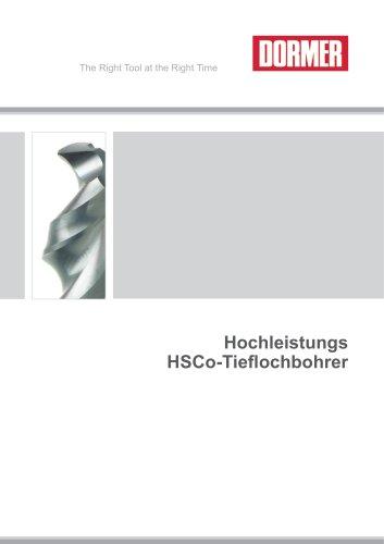 Hochleistungs HSCo-Tieflochbohrer