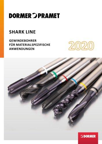 SHARK LINE GEWINDEBOHRER FÜR MATERIALSPEZIFISCHE ANWENDUNGEN 2020