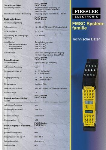 FMSC System- familie Technische Daten