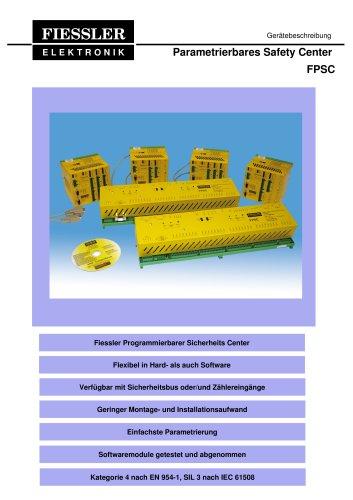 FPSC-Sicherheitssteuerung Gerätebeschreibung
