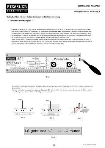 LSUW N1 K Muting Elektrischer Anschluß