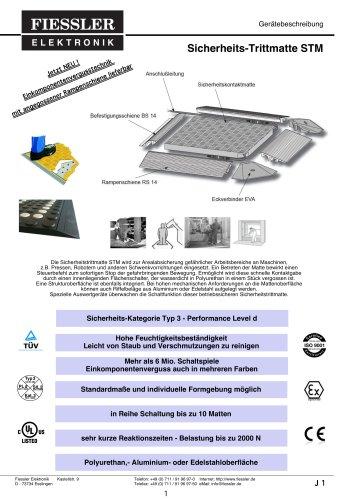 Sicherheits-Trittmatte STM