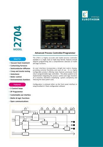 Advanced Process Controller/Programmer