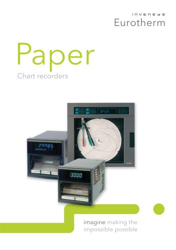 Paper Chart recorders