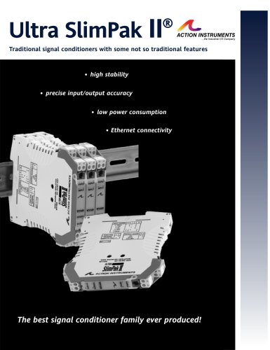 Ultra SlimPak II Signal Conditioner