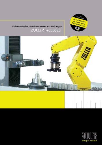 Die effiziente Automatisierungslösung »roboSet«