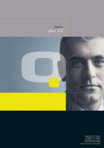 Innovative Steuerungs-Software »pilot 3.0«