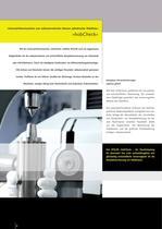 Die Universal-Messmaschine zum vollautomatischen Messen und Prüfen von zylindrischen Wälzfräsern »hobCheck« - 2