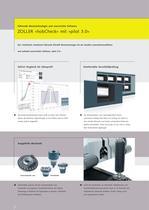 Die Universal-Messmaschine zum vollautomatischen Messen und Prüfen von zylindrischen Wälzfräsern »hobCheck« - 3