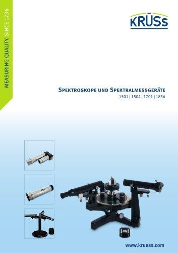 Spektroskope Spektralmessgeräte