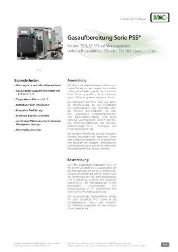 Gasaufbereitung Serie PSS®